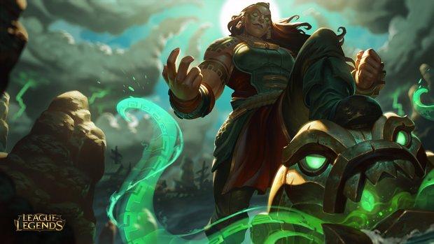 League of Legends: Das ist die neue Kraken-Priesterin Illaoi