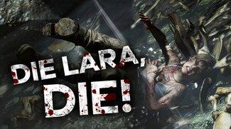 Schöner sterben mit Lara: Die krassesten Todes-Szenen aus Rise of the Tomb Raider
