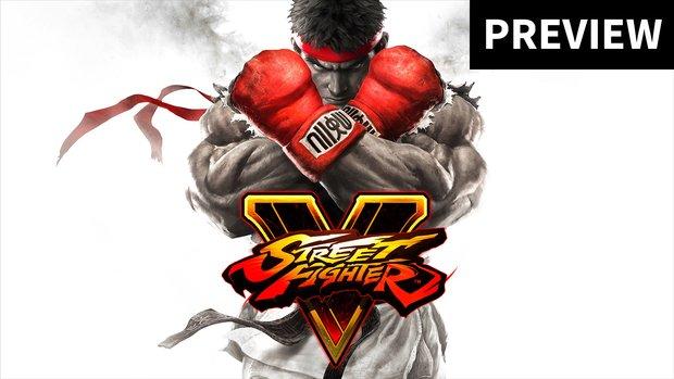Street Fighter 5 Preview: So fühlt sich das neue Spiel für einen Noob an