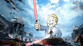 Fallout 4 X Star Wars Battlefront: Lichtschwerter in der Post-Apokalypse