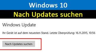 Windows 10: Nach Updates suchen – So geht's