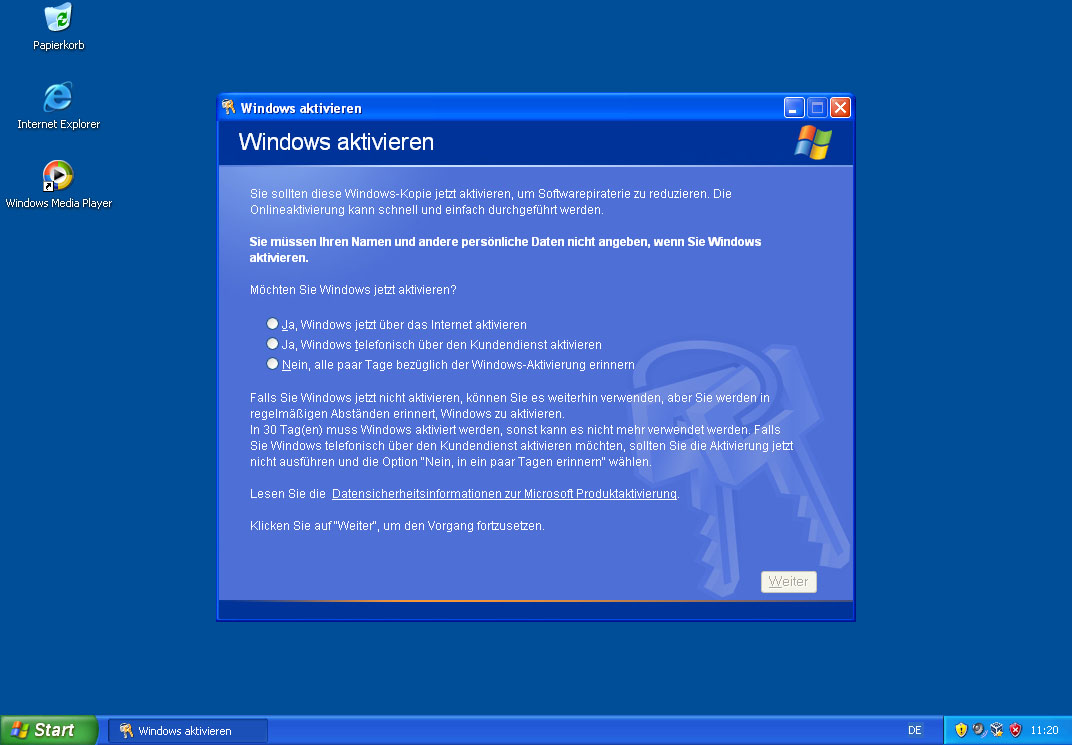 hacking into windows xp professional