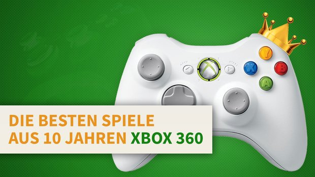 10 Jahre Xbox 360: Diese Spiele-Klassiker musst du gespielt haben!