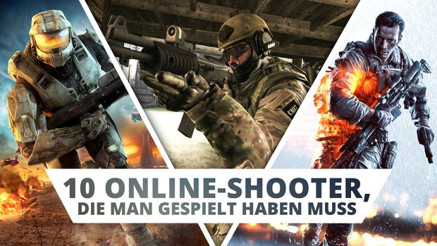 Diese 10 Online-Shooter musst du einfach mal gespielt haben!