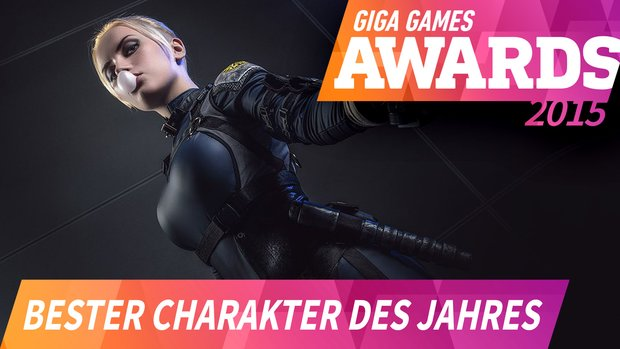 GIGA GAMES Awards: Das war der beste Charakter 2015
