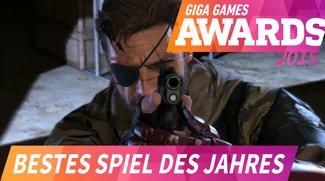 GIGA GAMES Awards: Das war das Spiel des Jahres 2015