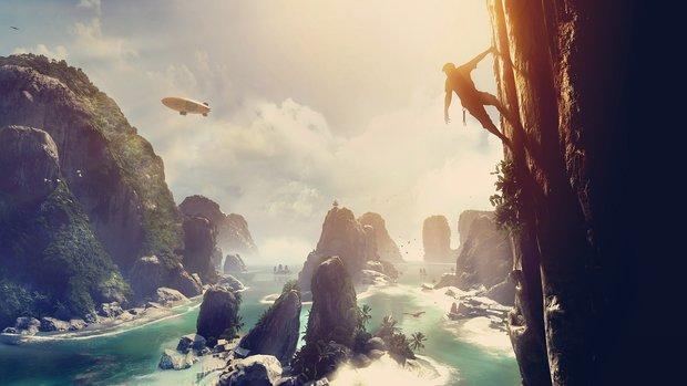 """Halong liegt in Frankfurt: Wir haben den neuen Crytek-Titel """"The Climb"""" angespielt!"""