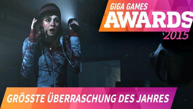 GIGA GAMES Awards: Das war die größte Überraschung 2015