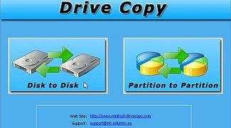 MiniTool Drive Copy: Festplatten + Partitionen kopieren
