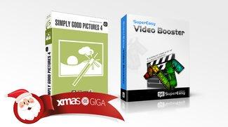 Vollversionen kostenlos im GIGA-Adventskalender: Multimediatools für ca. 70 €