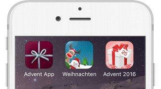Adventskalender-Apps 2016 für iPhone – garantiert kalorienfrei
