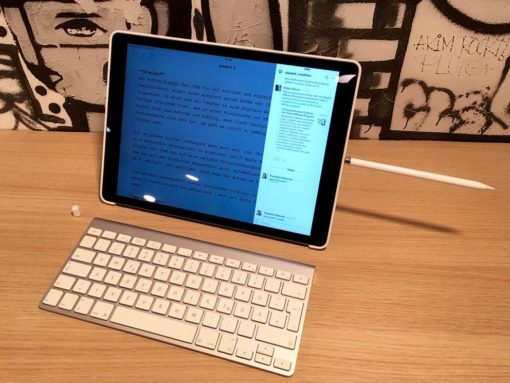 Apple Pencil – Aufladung am iPad Pro