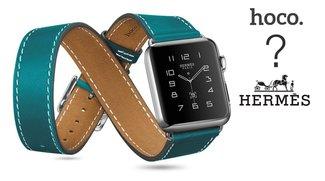 Apple Watch: Alternative Armbänder (Sport-, Milanaise-, Leder- und Glieder-Versionen) – Hermès-Update