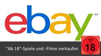 eBay: Ab 18-Spiele und -Filme verkaufen
