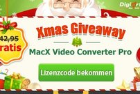 Giveaway:<b> MacX Video Converter Pro, täglich 1000 Gratis-Lizenzen</b></b>