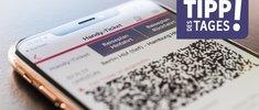 Weihnachtstickets der Bahn verfügbar: Handy-Ticket für die Züge der DB verwenden, so gehts