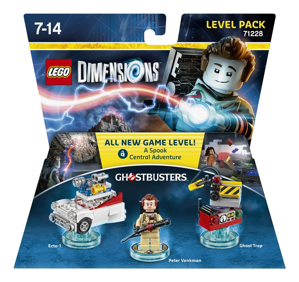 LD LEVEL PACK GHOSTBUSTERS 2D