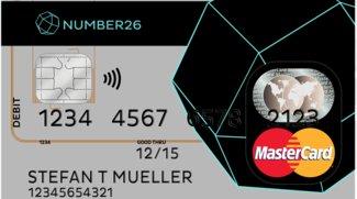 Number26: Mastercard - Funktionen, Verwendung, Kosten
