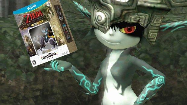 The Legend of Zelda Twilight Princess HD: Dieser Trailer zeigt die Vorteile der amiibo