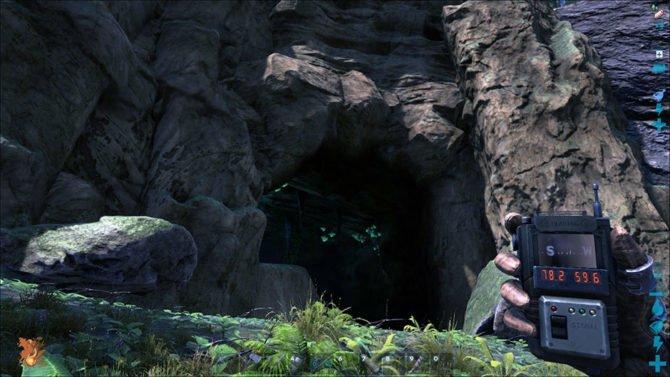 Die Höhle im Südosten. (Quelle: ARK)