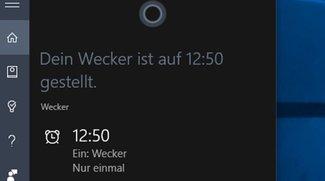 Cortana: Wecker stellen – So geht's