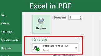Excel in PDF umwandeln – So geht's