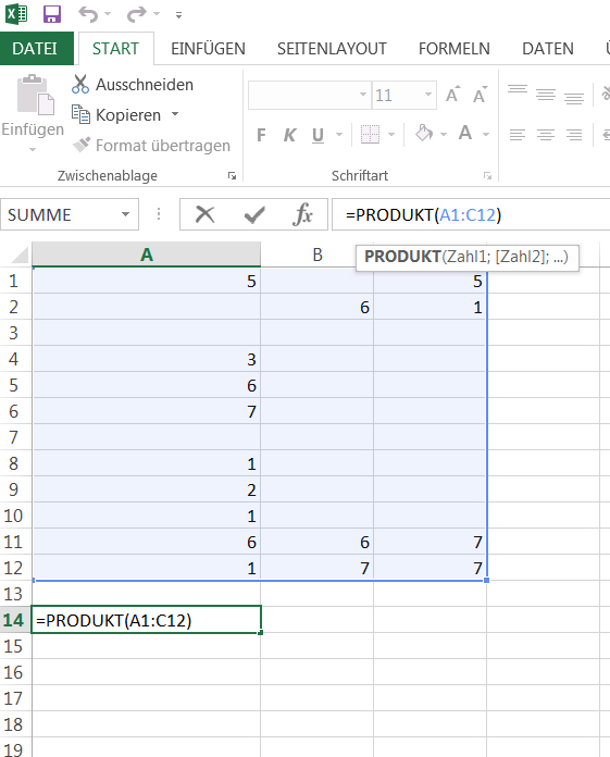 Multiplikation halbschriftlich  Mathematikaufgaben