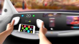 Apple iCar: Aufregender Blick ins Cockpit (Studie)