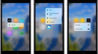 3D Touch: Die besten Apps für das iPhone 6s/6s Plus