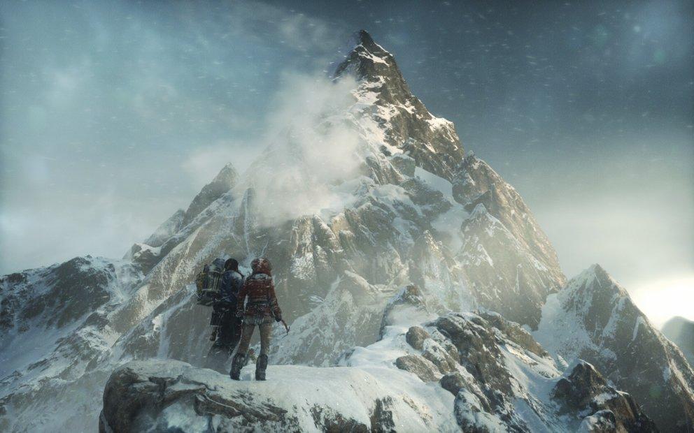 Kämpft mit Lara in einer atemberaubenden Kulisse in Rise of the Tomb Raider