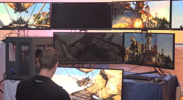 Der ultimative High-End-PC: Diese Jungs spielen 7 verschiedene Spiele gleichzeitig