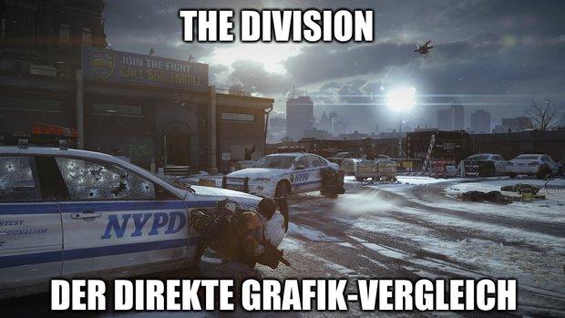 The Division: E3-Demos gegen aktuelle Xbox-Version - der direkte Vergleich