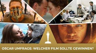 Oscar 2016: Bester Film – Wer sollte gewinnen? Unsere Umfrage zur wichtigsten Trophäe