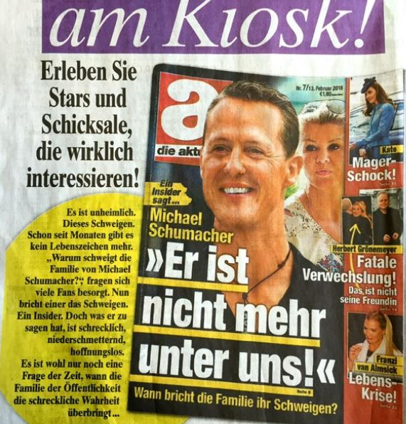 Michael Schumacher Tot