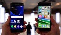Samsung Galaxy S7 vs. iPhone 6s: Video-Vergleich der High-End-Smartphones