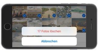 Alle Fotos vom iPhone löschen, so geht's schnell und einfach