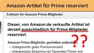 Sperrung Ihres Amazon Kontos