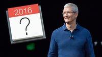 Apple Events 2016: Wann gibt's die nächste Keynote? (Termine in der Vorschau)