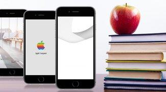 Wallpaper-Nachschub fürs iPhone: Apple-Fan-Edition