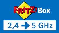 Fritzbox von 2,4- auf 5-GHz-Frequenzband umstellen – so geht's