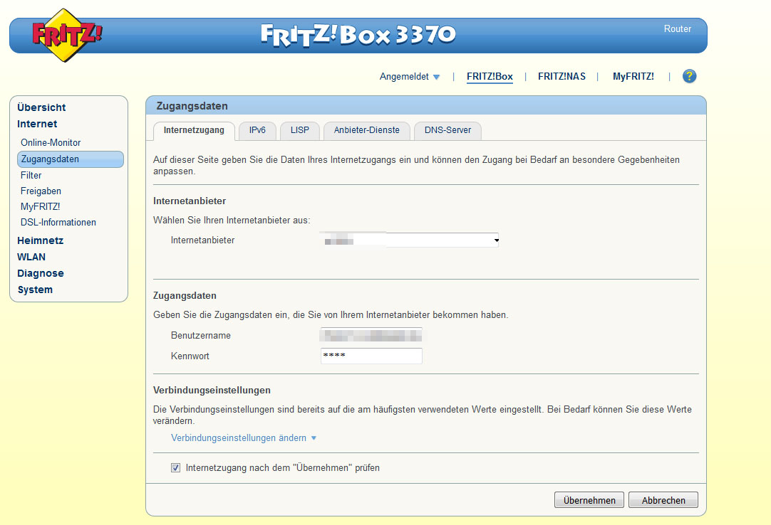 fritzbox: power oder info blinkt – ursache und lösung – giga
