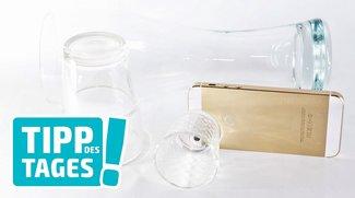 Tipp: Objektivaufsatz für iPhone aus dem Küchenschrank