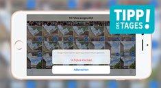 Bilder vom iPhone löschen, so gehts schnell und einfach