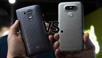 "LG G5 vs. LG G4: Video-Vergleich des ""Magic""-Smartphones mit dem Vorgänger"