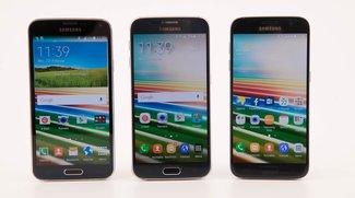 Samsung Galaxy S7 vs. S6 vs. S5: Drei Flaggschiff-Generationen im Video-Vergleich