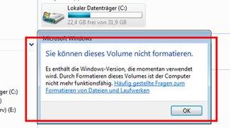 Windows Vista formatieren (auch ohne CD) – Anleitung
