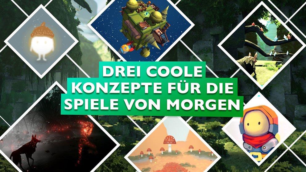 Deutscher Entwickler-Nachwuchs: Drei coole Konzepte für die Spiele von morgen