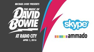 David Bowie Tribut-Konzert im Live-Stream via Skype