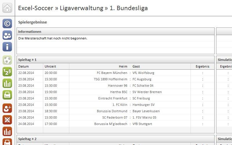 Excel-Soccer-Ligaverwaltung-1-Bundesliga-1