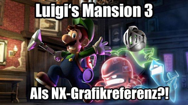 Nintendo NX: Erscheint laut Insider zusammen mit Luigi's Mansion 3 als Grafikreferenz